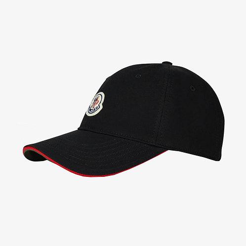 Moncler Baseball Cap - Black