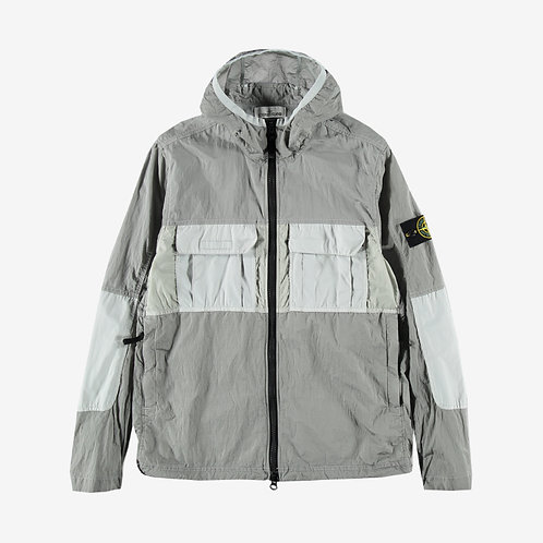 Stone Island Nylon Metal Watro Ripstop Jacket - Ice Grey