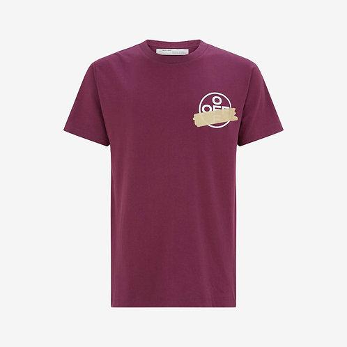 Off-White Tape Arrow T-Shirt Purple