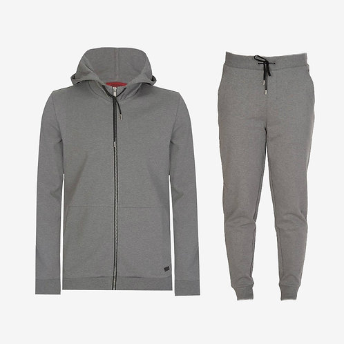 Hugo Boss Dattis Tracksuit Light Grey Set