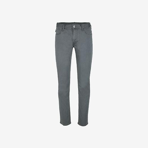 Emporio Armani Straight Leg Trousers Grey Men Jeans