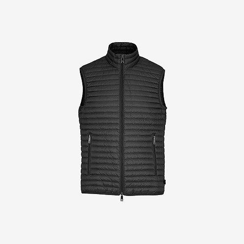 Emporio Armani Gilet Bodywarmer Black Zip