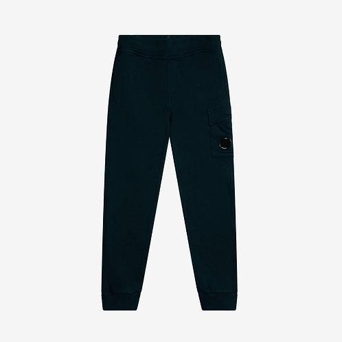 C.P. Company Kids Fleece Lens Sweat Pants - Navy