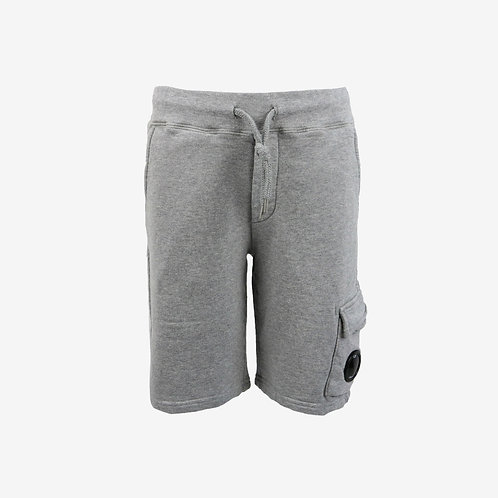 C.P. Company Kids Sweat Shorts with Goggle Detail - Grey
