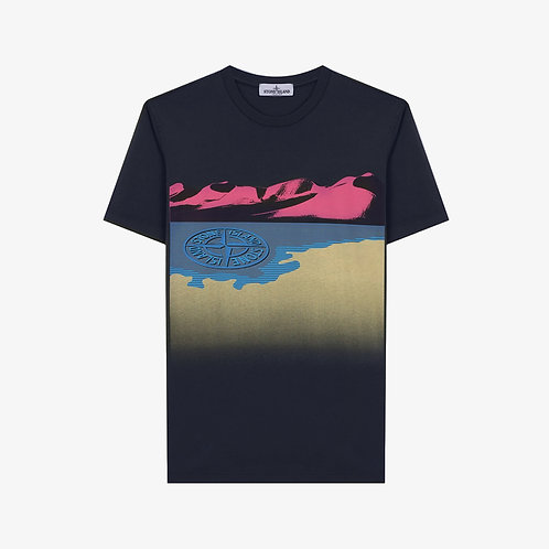 Stone Island Junior Mountain T-Shirt - Navy