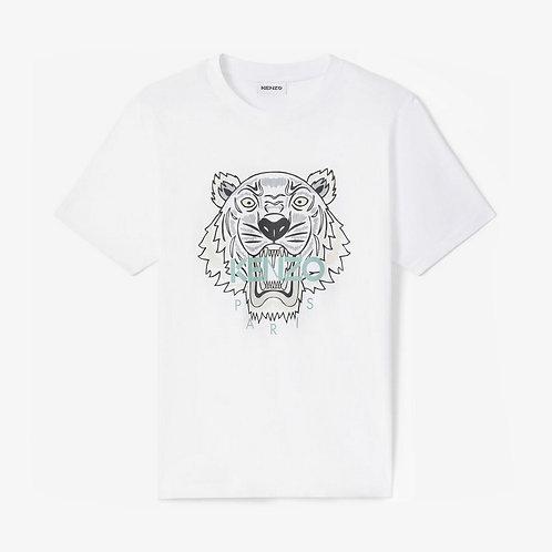 Kenzo Printed Tiger T-shirt - White