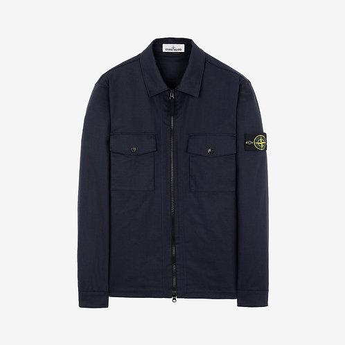 Stone Island Pocket Overshirt - Navy