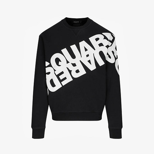 Dsquared2 Mirrored Logo Sweatshirt - Black