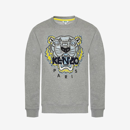 Kenzo Embroidered Tiger 'Holiday Capsule' Sweatshirt - Grey