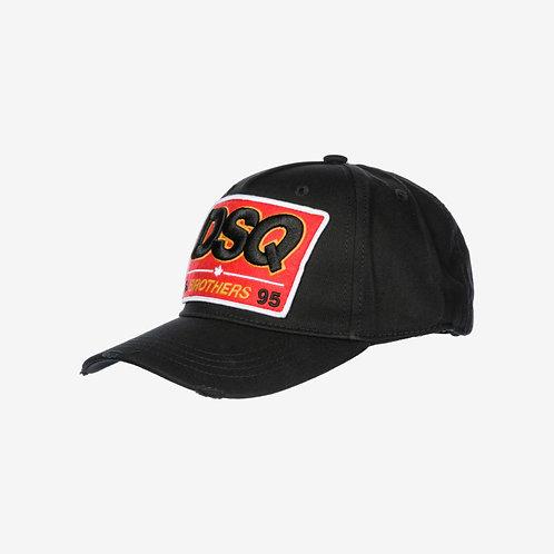 Dsquared2 'Brothers' Cap - Black