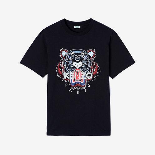 Kenzo Printed Tiger T-shirt - Black