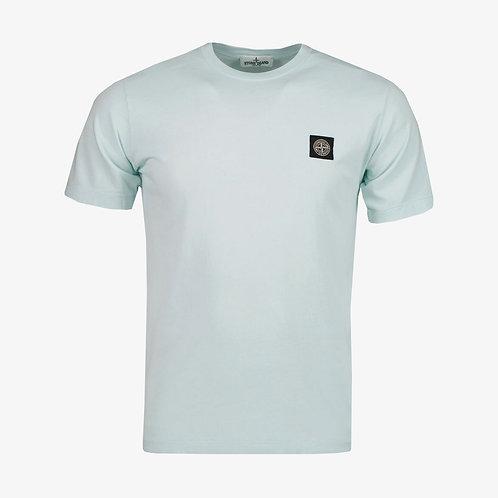 Stone Island Junior Logo Patch T-Shirt - Mint