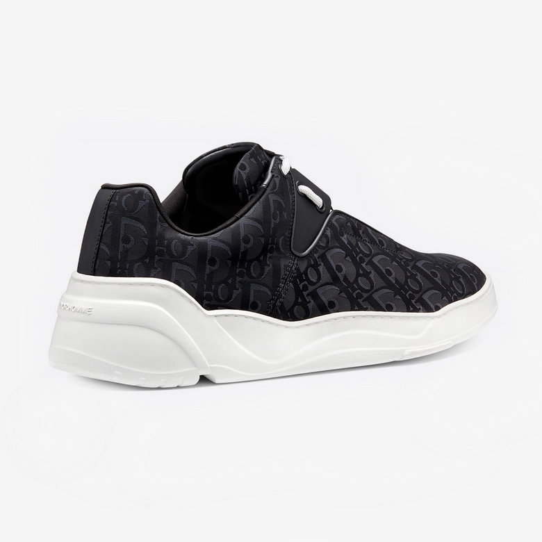 Dior B17 Oblique Sneakers - Black and