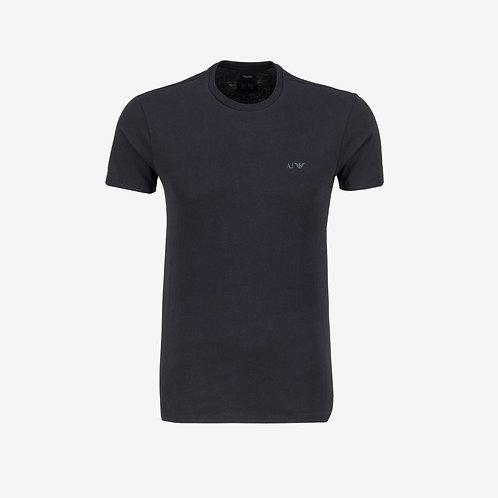 Armani Jeans T-shirt with Navy Logo Designer Menswear
