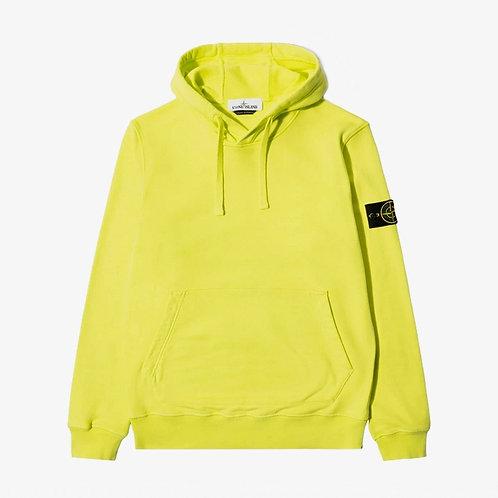 Stone Island Hooded Pullover Sweatshirt - Pistachio