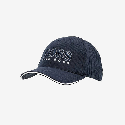 Hugo Boss Cap US Navy Embossed Front