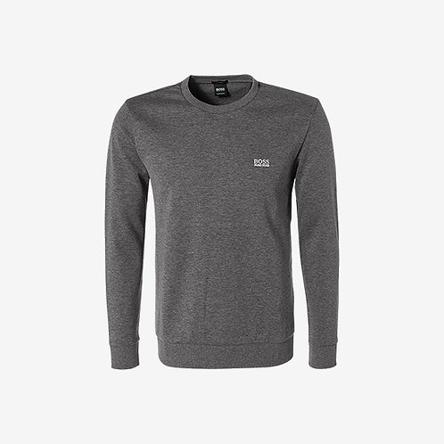 Boss Green Logo Sweatshirt - Salbo - Grey
