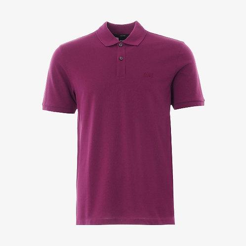Boss 'Pallas' Pima Cotton Short-Sleeve Polo - Purple