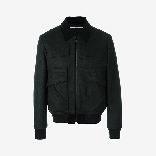 Kenzo Patch Bomber Jacket - Black
