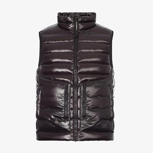 C.P. Company Zipped Padded Gilet - Black
