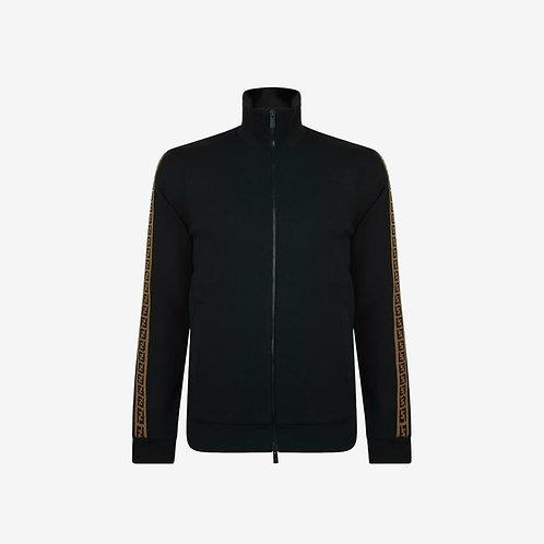 Fendi Tape Zip Sweatshirt - Black