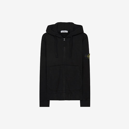 Stone Island Hooded Sweatshirt - Black