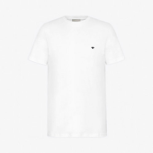 Dior Bee Embroidery T-Shirt - White