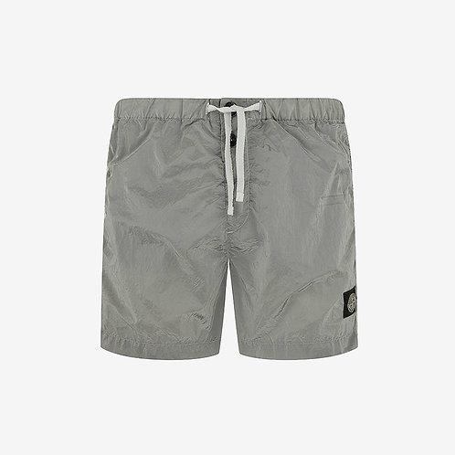 Stone Island Nylon Metal Shorts - Pearl Grey