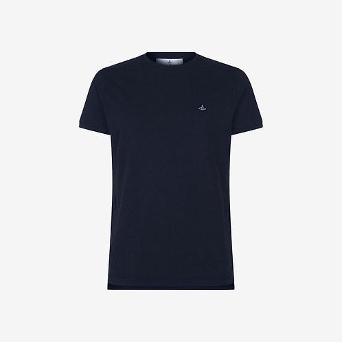 Vivienne Westwood Peru Orb Logo T-shirt - Navy