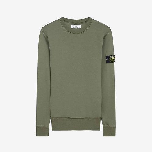 Stone Island Crewneck Sweatshirt - Olive Green