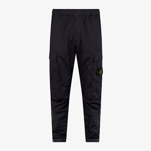 Stone Island Cargo Pants with Elasticated Ankles - Navy