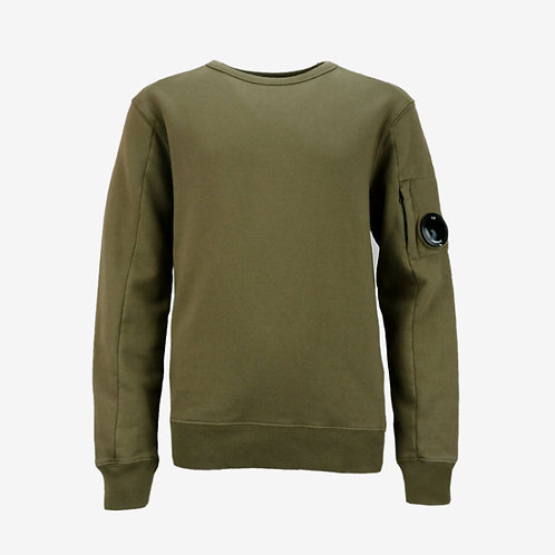 C.P. Company Kids Goggle Sweatshirt - Khaki
