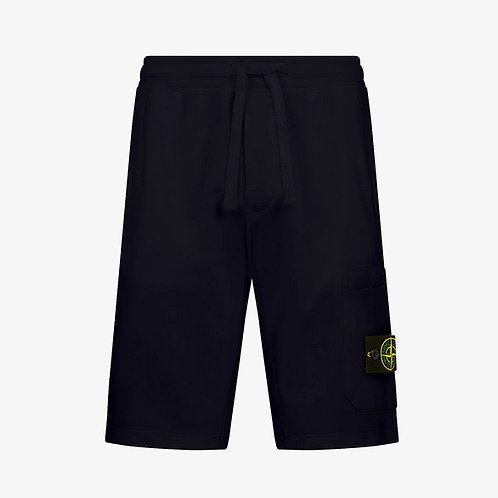 Stone Island Fleece Shorts - Navy