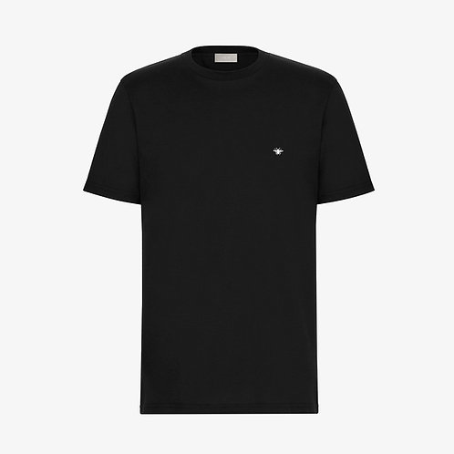 Dior Bee Embroidery T-Shirt - Black