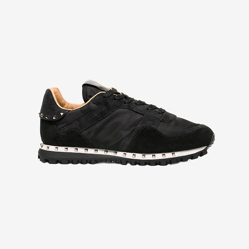 Valentino Rockstud Sneakers Black Side