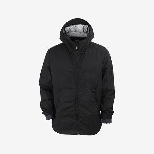 C.P. Company Spring Summer 18 - Nyfoil Hooded Rain Jacket - Black