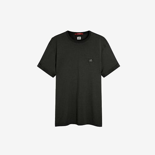 C.P. Company Re-Colour Logo T-Shirt - Black Coffee