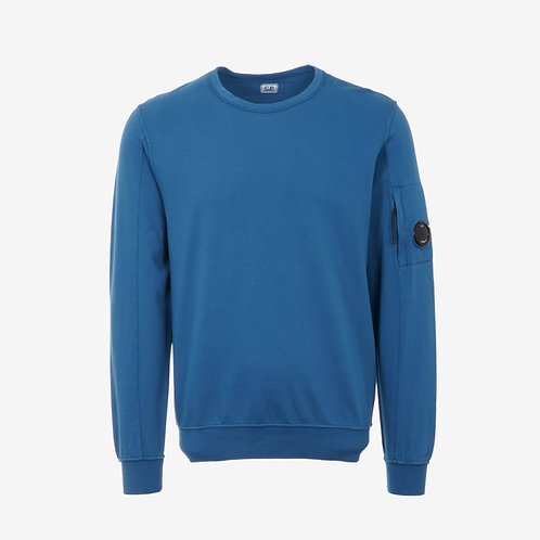 C.P. Company Light Fleece Lens Sweatshirt - Moroccan Blue