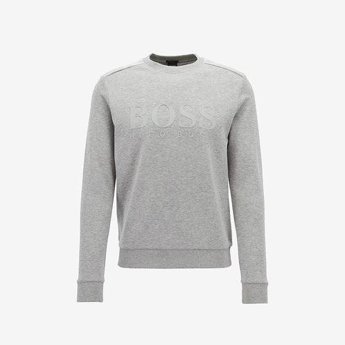 Boss Green Salbo Sweatshirt- Grey