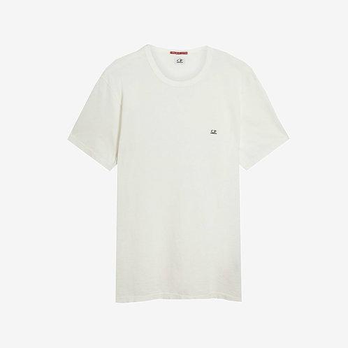 C.P. Company Logo Print Mako T-Shirt - White
