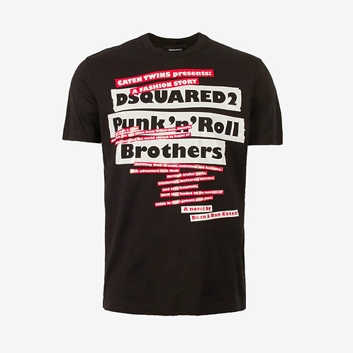 Dsquared2 Punk n Roll T-Shirt - Black