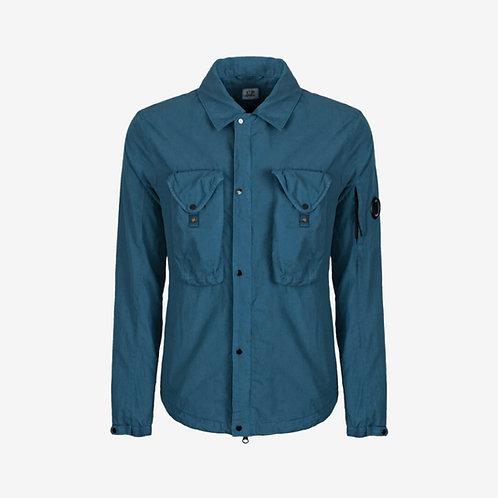 C.P. Company 50 Fili Overshirt Dark Denim Blue