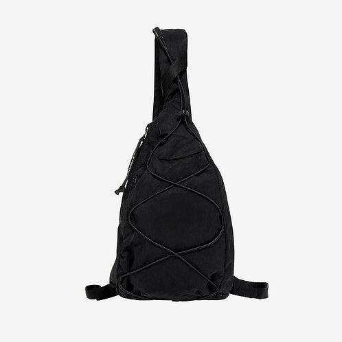 C.P. Company Nylon Sateen Lens Shoulder Bag Black