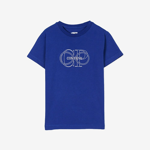 C.P. Company Kids Logo T-Shirt - Blue