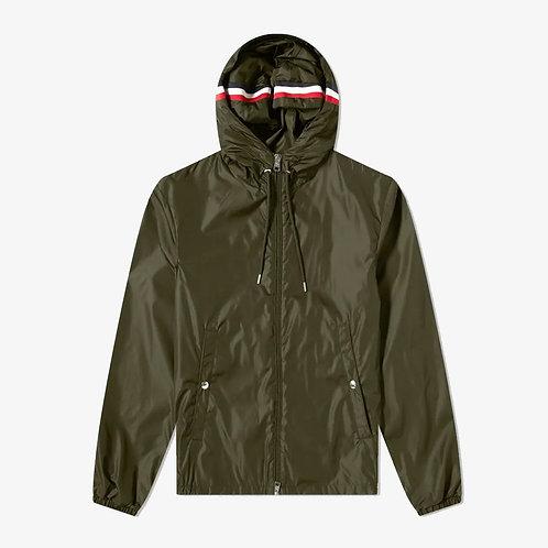 Moncler 'Grimpeurs' Hooded Zip Jacket - Dark Green