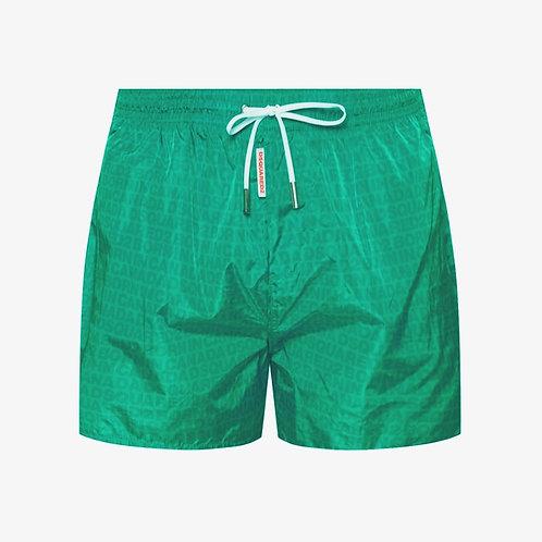 DSquared2 Logo Swim Shorts - Green