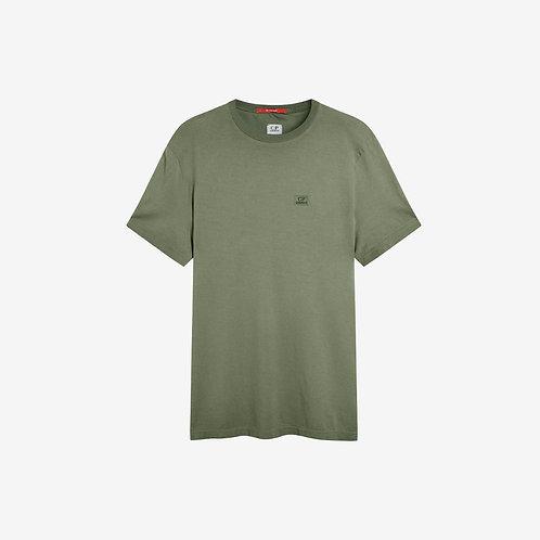C.P. Company Re-Colour Logo T-Shirt - Sage Green
