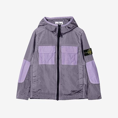 Stone Island Junior Shell Windbreaker Jacket - Lavender