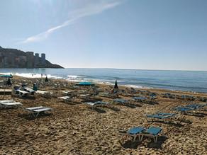 VR 360 video - Playa de Levante, Benidorm, Španělsko