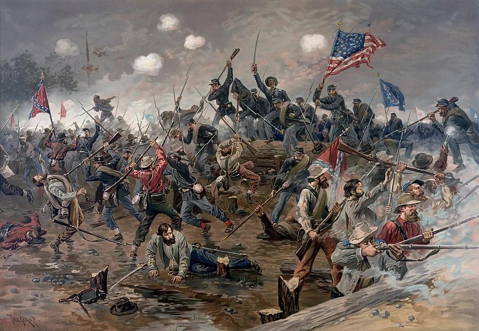 Obraz: Občanská válka - bitva o Ameriku